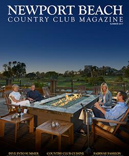 Newport Beach Country Club Magazine