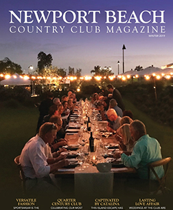 Newport Beach Country Club Magazine